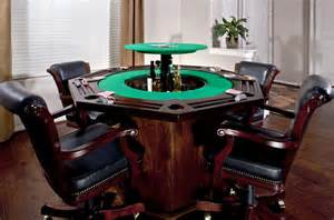Custom Poker Table With Hidden Pop Up Bar Using The L 40 Lift From