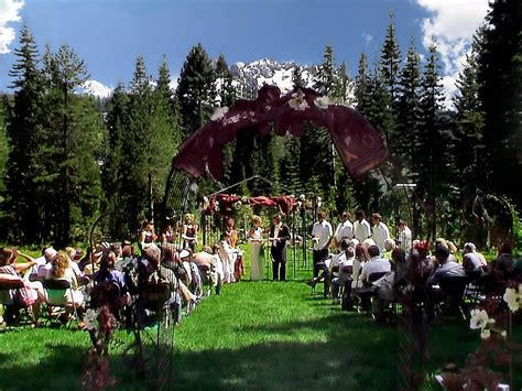 low cost wedding venues northern california rates shasta weddings
