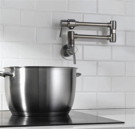 eyekepper wall mounted pot filler kitchen faucet