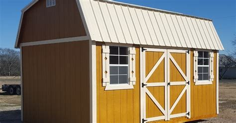 Storage Shed Rental Prices by Wolfvalley Buildings Storage Shed 10x16 Side Lofted