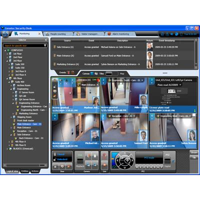 genetec security center 5.0 cctv software specifications