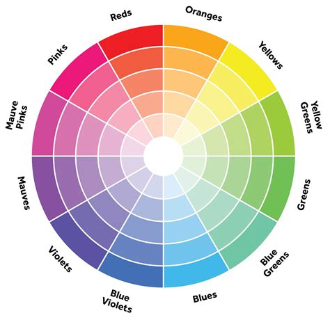 colours are placed on the colour wheel here you go color