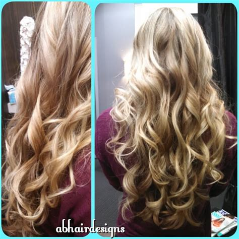 low lights and hi lights beach wave hair hair fairy by beach waves on long blonde hair highlights lowlights yelp