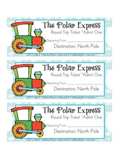 printable polar express tickets kindergarten 25 unique free tickets ideas on pinterest exit slips
