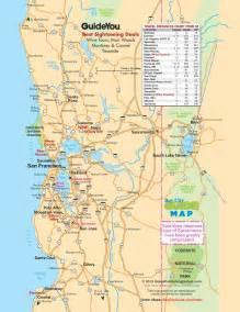 san francisco bay area road map