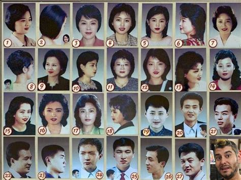 styles of haircuts allowed in north korea north korea 28 allowed haircuts h3h3productions