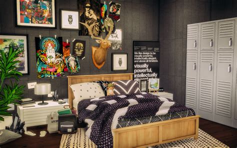 tumblr bedroom clutter sims 4 cc sylvan bedroom room made this room at first to alachie