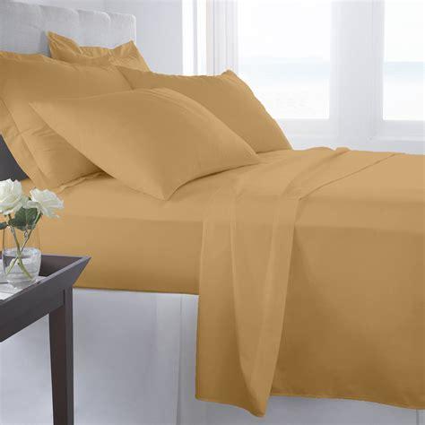 super soft bed sheets supreme super soft 4 piece bed sheet set deep pocket bedding all colors sizes ebay