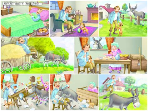 with puppies story the and the story with moral