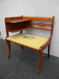 Antique Gossip Bench Phone Table Vintage Telephone Table On Pinterest Telephone Table