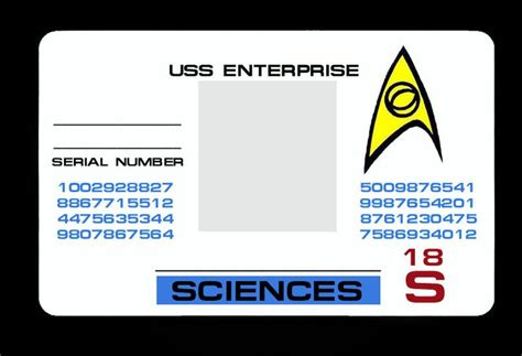 Id Card Haji Polos photoshop your own starfleet id card science blue