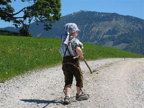 wandlen kinder wandern wanderfreunde hainsacker