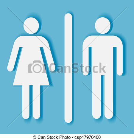 simbolo bagno clipart vettoriali di bagno donna simbolo uomo bagno