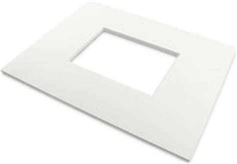 10 X 3 Framing Archival Mat by 8 Ply 11x14 Kit White Archival Mat For 5x7 Image 4 5