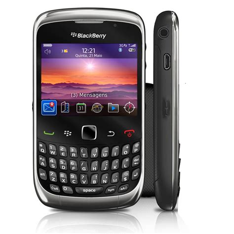 blackberry  curve  wifi bluetooth phone att good