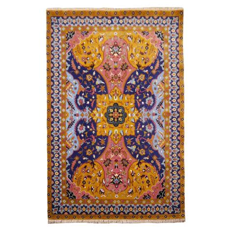 indian design rugs contemporary petag design indian agra rug for sale at 1stdibs