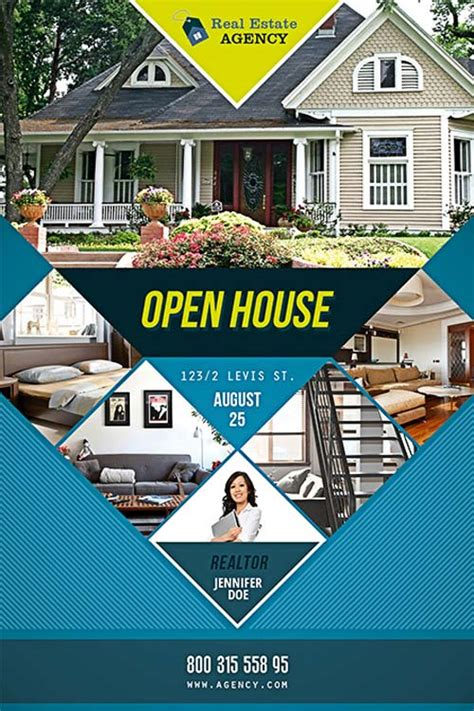 Free Open House Flyer Template Download Psd For Photoshop Open House Flyer Template Free