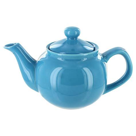 A Pot Of Tea tea store brand 2 cup teapot light blue gloss