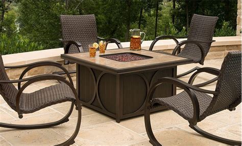 patio pit table costco costco tables and chairs images costco patio furniture