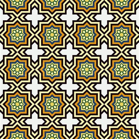 islamic ornamentation pattern islam style background geometric seamless pattern