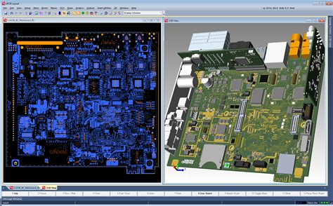 pads layout update decal ecad mcad collaboration mentor graphics