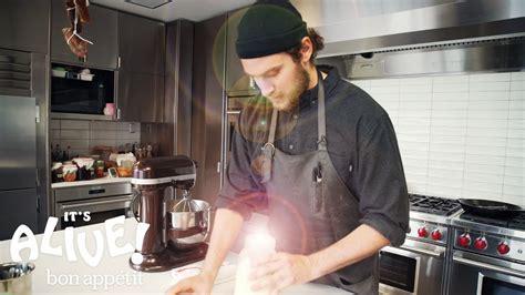 Bon Appetit Test Kitchen by Brad Makes Cultured Butter It S Alive Bon Appetit