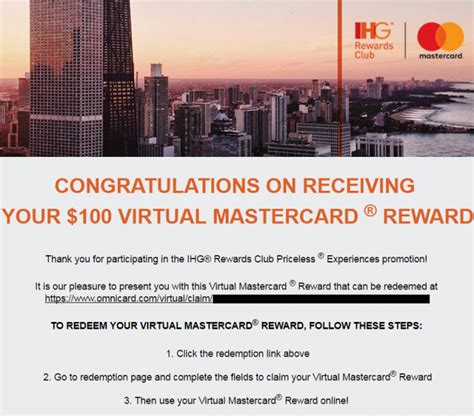 Ihg Gift Card Promotion - update ihg rewards club mastercard priceless up to 100 gift card promo cards now