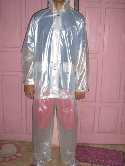 Jas Hujan Raincity Transparan jual promo jas hujan transparan polos baju celana md c collection