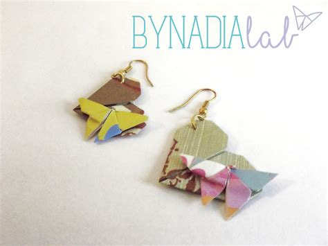 tutorial origami farfalla differenza tra origami semplici e trattati bynadialab