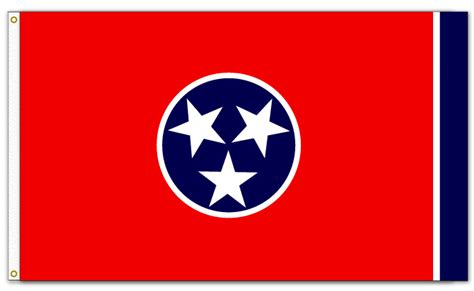 tennessee state colors state of tennessee flag the flag shop