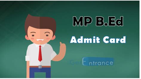 Mba Syllabus Mp Higher Education by Mp B Ed 2017 Admit Card Ticket Here