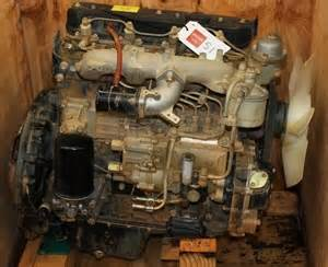 Isuzu 3 Cylinder Diesel Diesel Engine Isuzu 4bd1 4 Cylinder 3 9 Litre Auction