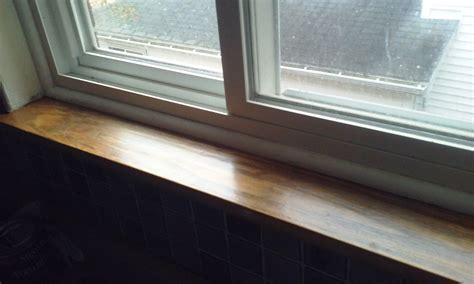 Window Sill Finishes Window Sill Refinishing
