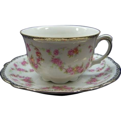 Tea Cup by Schumann Original Bridal Tea Cup Saucer Bavaria