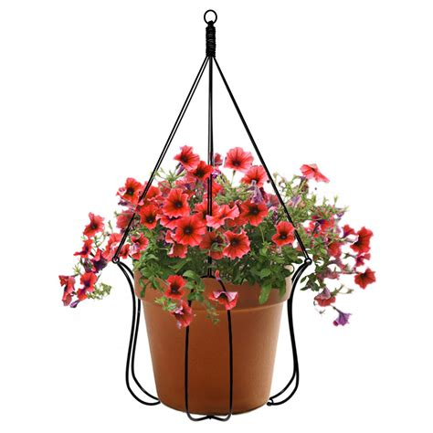 Potted Plant Hangers - adjustable plant hanger turns almost any pot into a