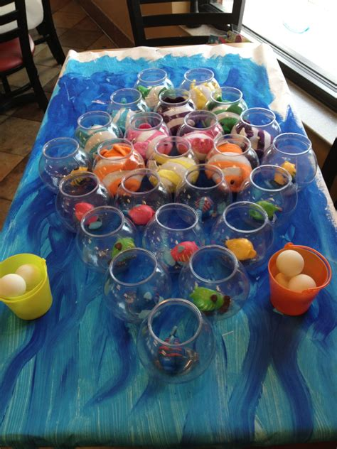 themed gamer party this fun under the sea themed game was found online at a