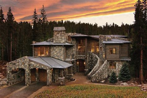 Colorado Luxury Mountain Homes Summit County Log Property Listings