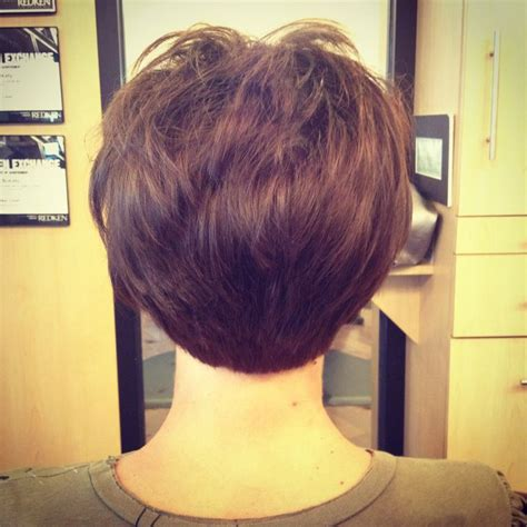 find pics of bobs with stacked backs short stacked bob haircut by debbie at encounters salon