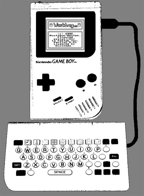 game boy keyboard tutorial jeff frohwein s gameboy technical page documents