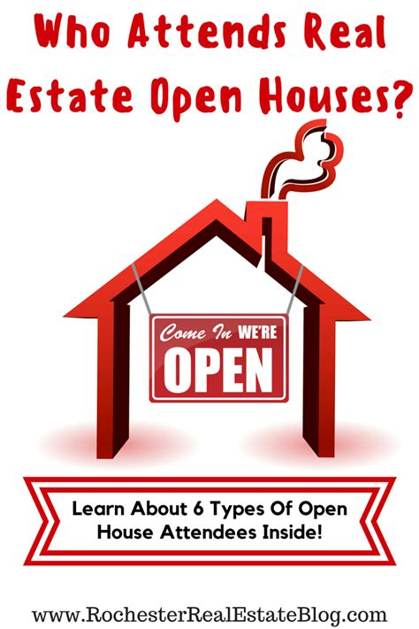 what is open house in real estate what type of people attend real estate open houses