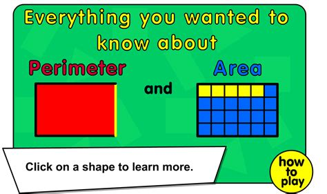pattern rule for perimeters area and perimeter mrs russell s classroom