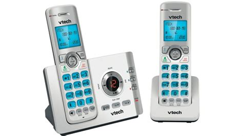 Tv Mobil Vtech buy vtech 17550 2 handset dect6 0 cordless phone with