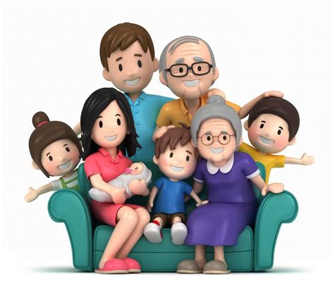 clipart famiglia 3d happy family family photo images photos
