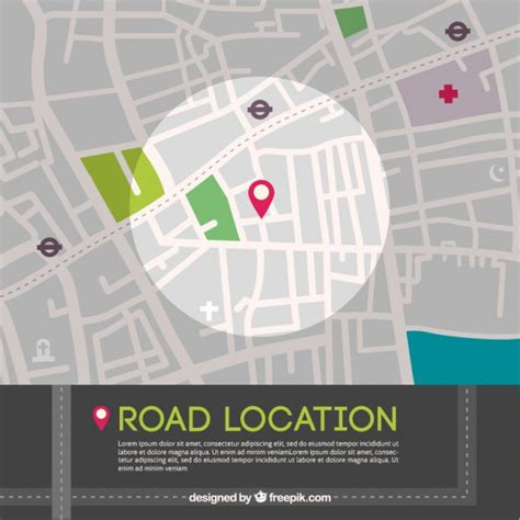 location road map road location map graphic vector free