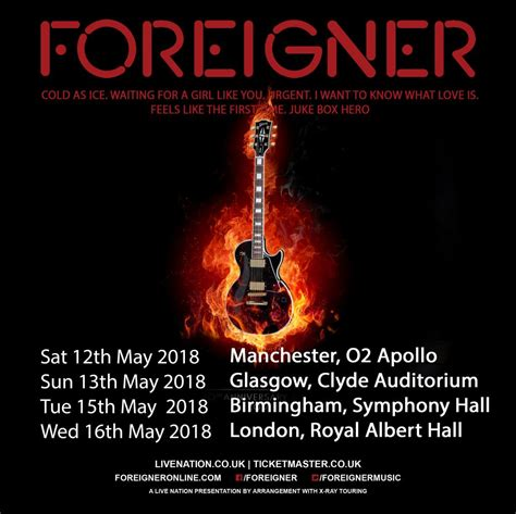 foreigner official fan foreigner the official website