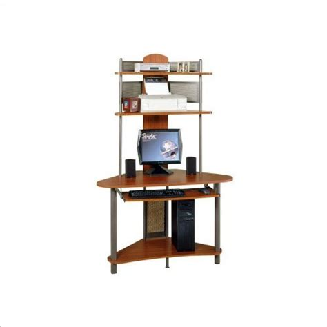 Wood Corner Desk With Hutch by Studio Rta A Tower Corner Wood Computer Desk With Hutch In
