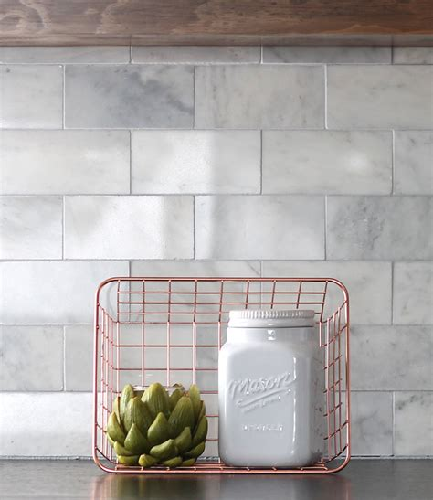 marble subway tile kitchen backsplash diy marble subway tile backsplash tips tricks and what
