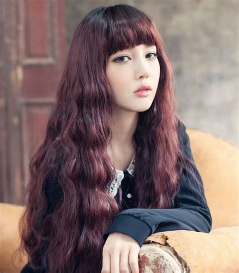 kpop hairstyles bangs 17 best images about long hair on pinterest her hair