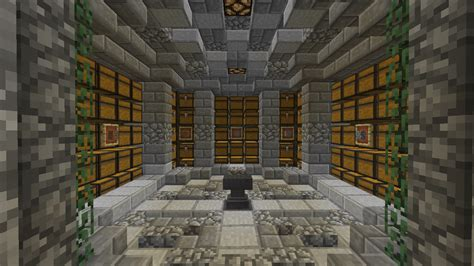 Easy To Build Floor Plans by My Bulk Storage Room Design What Do You Think Minecraft