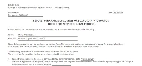 address request form change of address request and other new forms